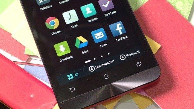 Zenfone App Drawer Sorting