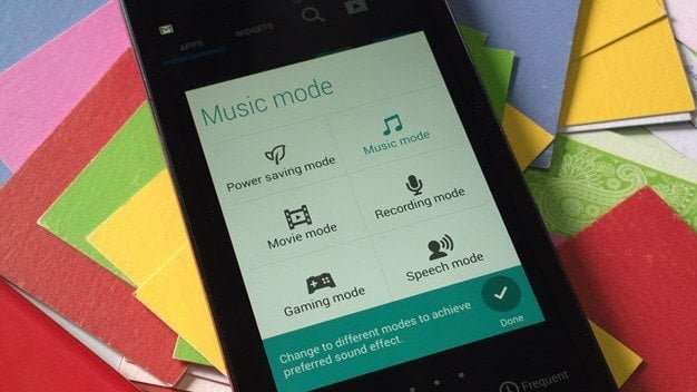 Zenfone Audio Mode