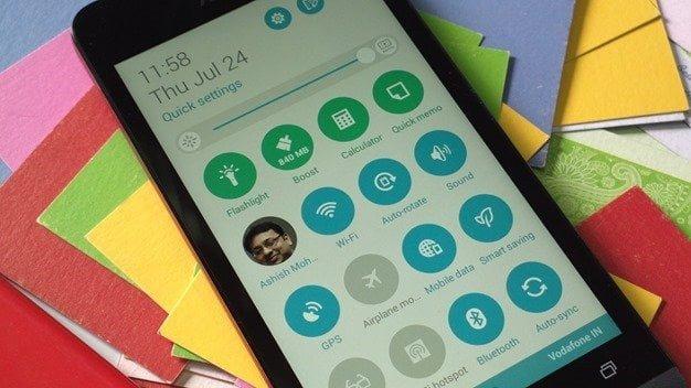 Zenfone UI Notifications