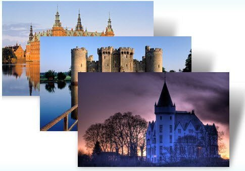 free download Castles of Europe theme for windows 7