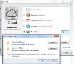 iCloud Photo Stream with Dropbox