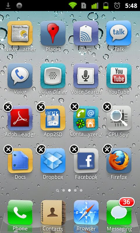 iOS Like Launcher for Android