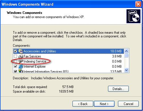 Set page Size in Windows XP
