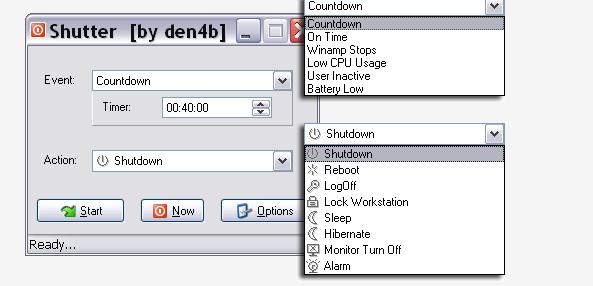 Shutter Options