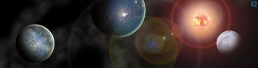 Supernova : Triple Monitor Wide wallpaper