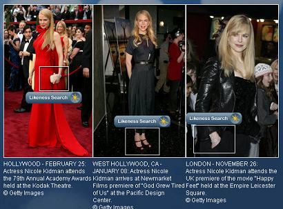 Celebrity Visual Search