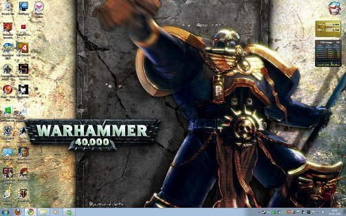 Warhammer Windows 7 Theme