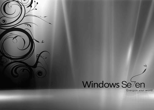 Windows 7 Gray wallpaper