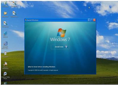 Windows Xp to Windows 7