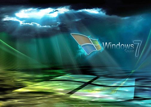 Windows 7 Cloud wallpaper