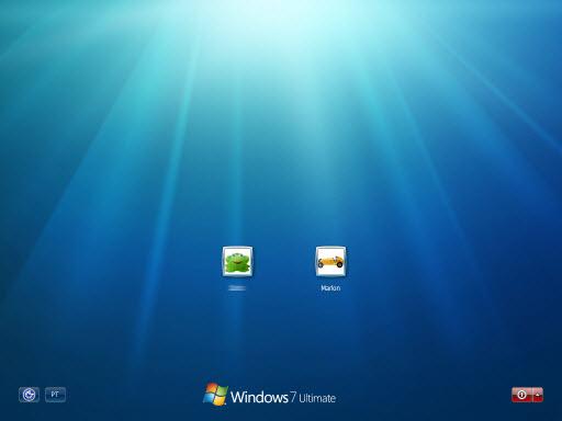 Windows 7 pdc2008 logon