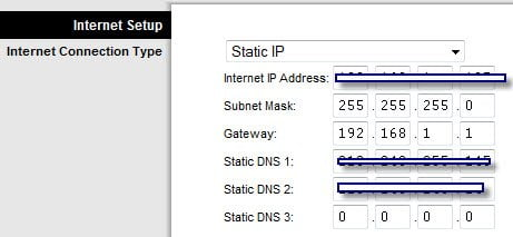 How To Set A Static Ip Address On Linksys Router How to
